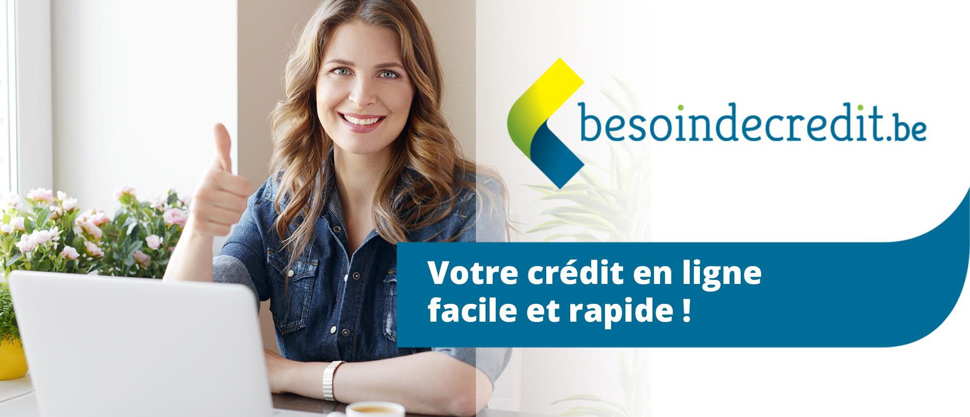 Votre crédit en ligne facile et rapide !